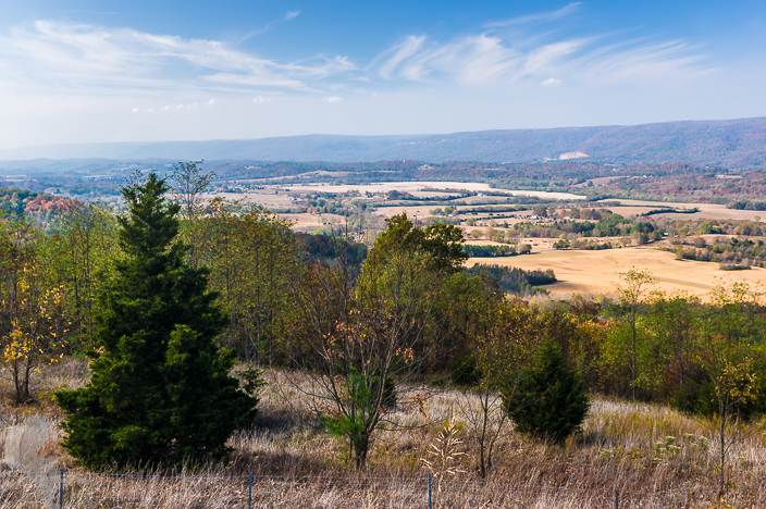 Dunlap Overlook - Example of a large depth in field